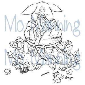 Mo Manning Clear Stamp MM020