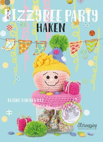 Bizzy Bee Party Haken - Klaske van der Bij