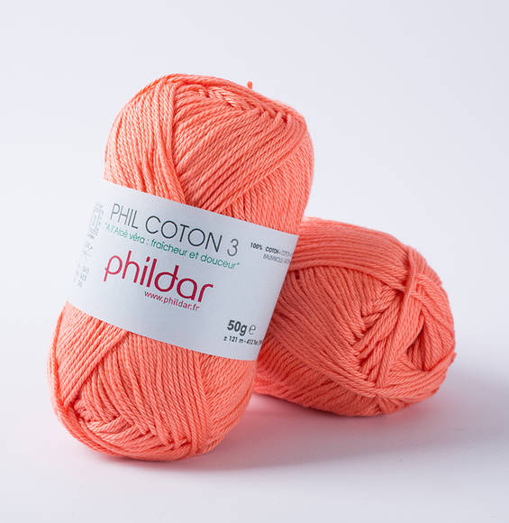 Phildar Phil Coton 3 Corail 1268