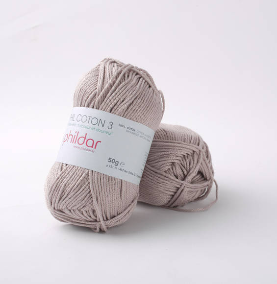 Phildar Phil Coton 3 Taupe 1094