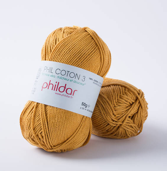 Phildar Phil Coton 3 Gold 1233