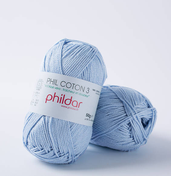 Phildar Phil Coton 3 Azur 1367