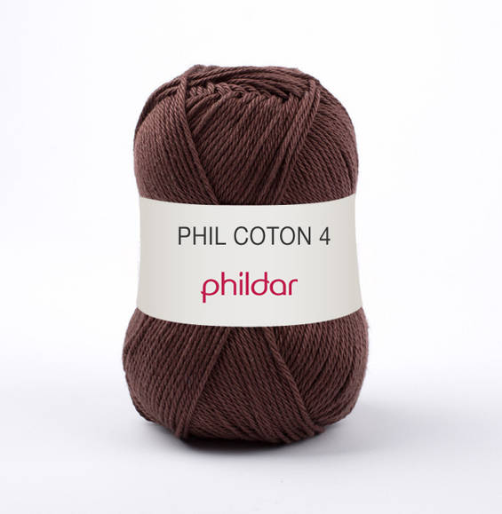 Phildar Phil Coton 4 Cacao 1330