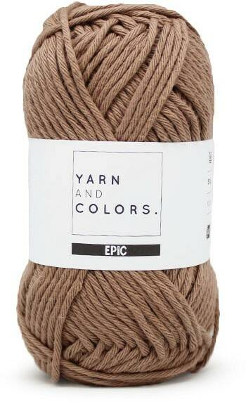 Yarn and colors Epic 006 taupe