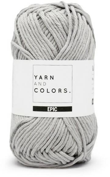 Yarn and colors Epic 095 soft grey