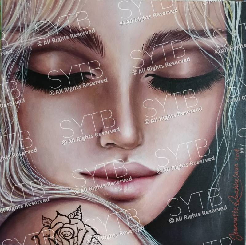 SYTB☆Covered  Beauty 2018(Original Painting)
