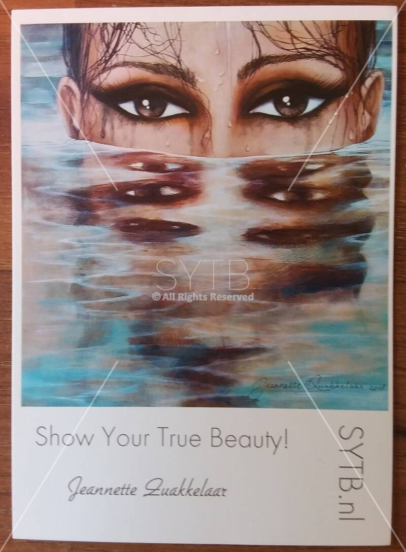 "SYTB☆Art card-""Water Beauty!"""