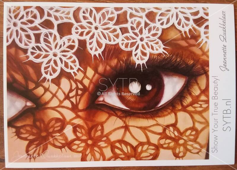 """SYTB☆Art card - """"Lace Beauty!"""""""