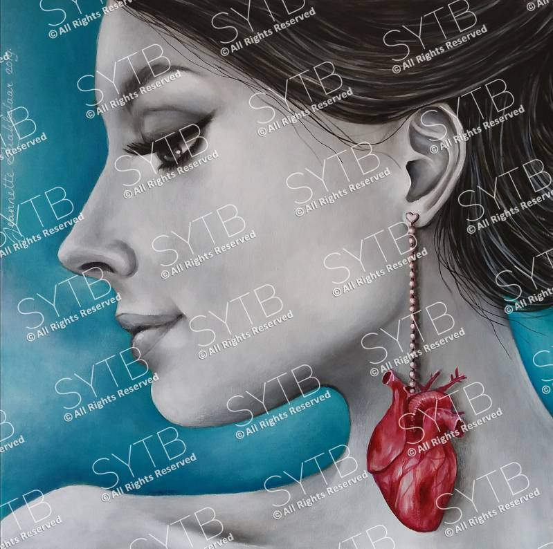 SYTB☆Heart Beauty 2018 (Original Painting)
