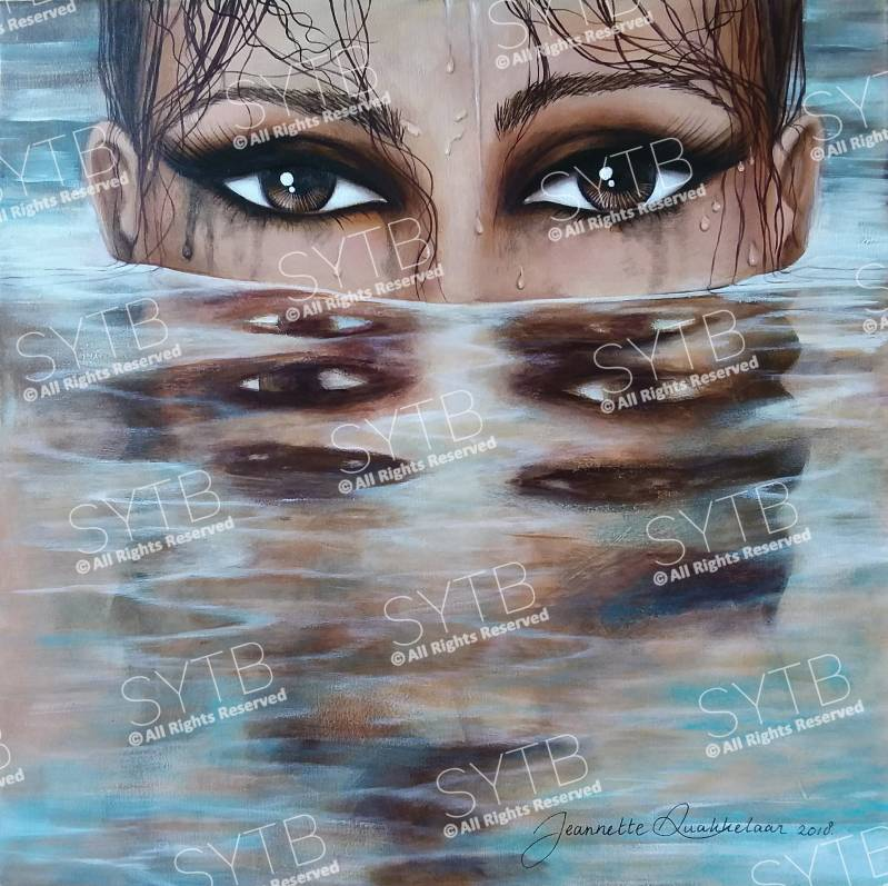 SYTB☆Water Beauty 2018 (Original painting)