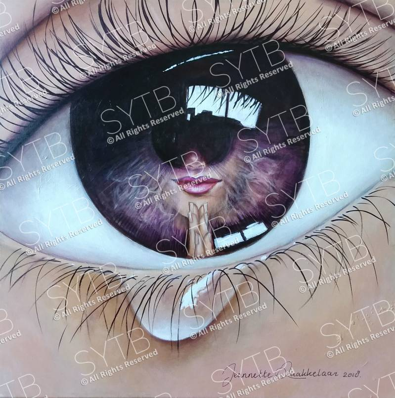 SYTB☆Eye am Beauty 2018(Original Painting)