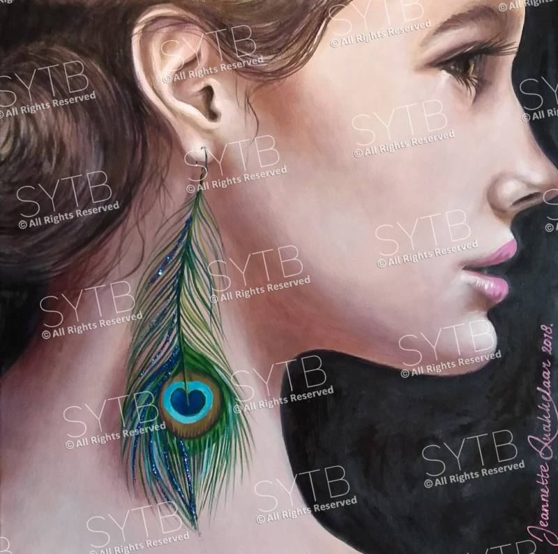 SYTB☆Peacock Beauty 2018 (Original painting)