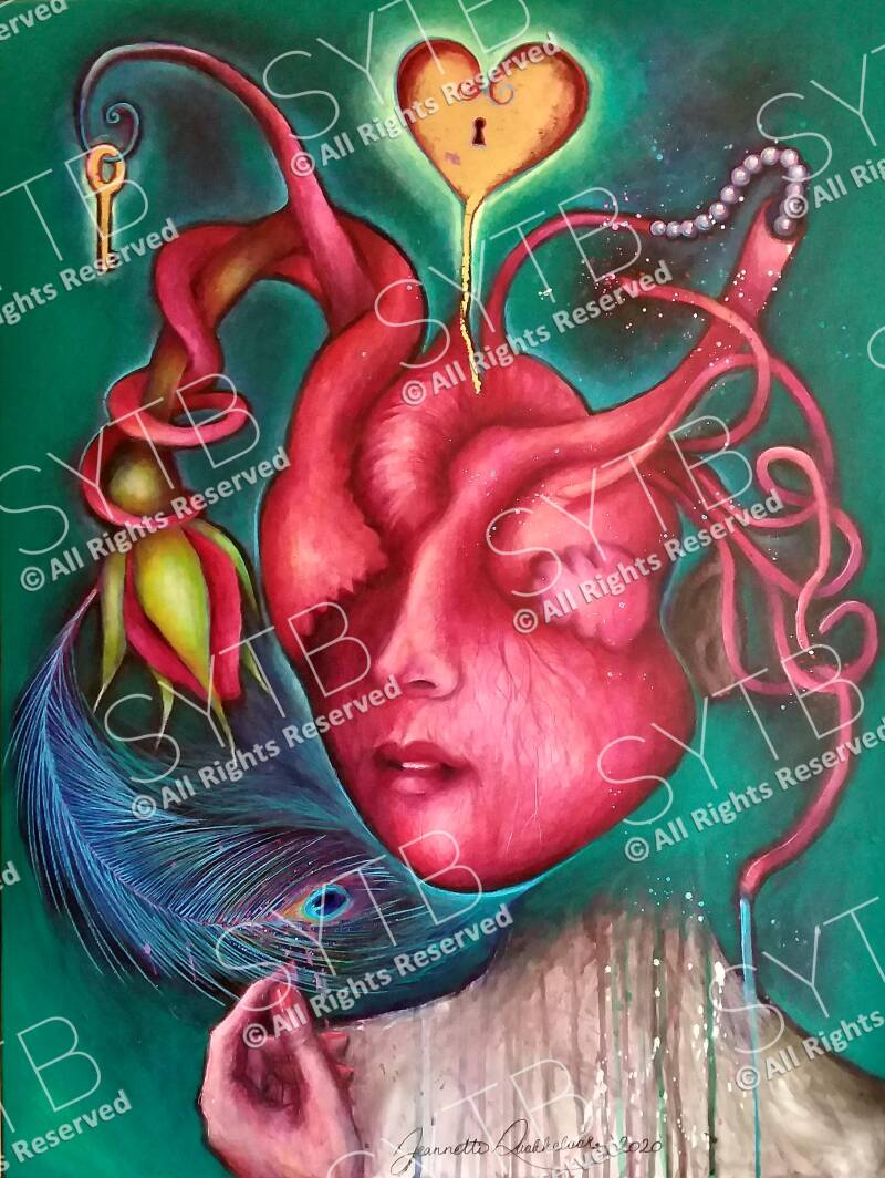 SYTB☆In Your Heart-Beauty 2020 (Original Painting)