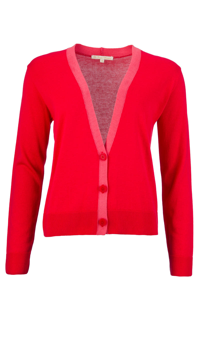 FOUR ROSES GILET ROOD