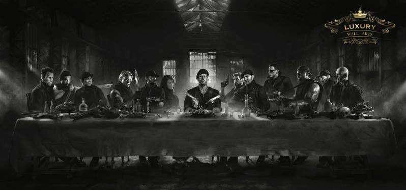 "The Expendables ""Last supper"""