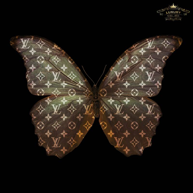 Louis Vuitton Butterfly Art