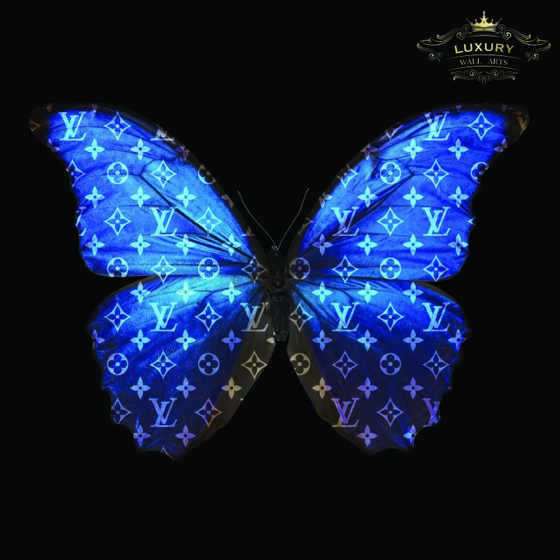 Louis Vuitton Butterfly Art (by Mr. Smit)