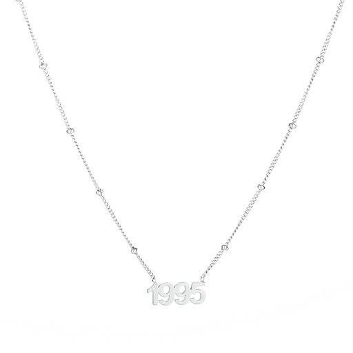 Ketting Year of Birth Zilver