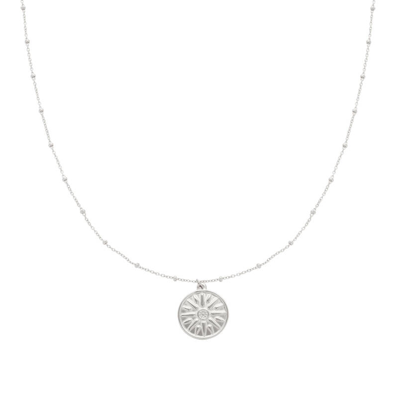 Ketting Sun Sign Zilver
