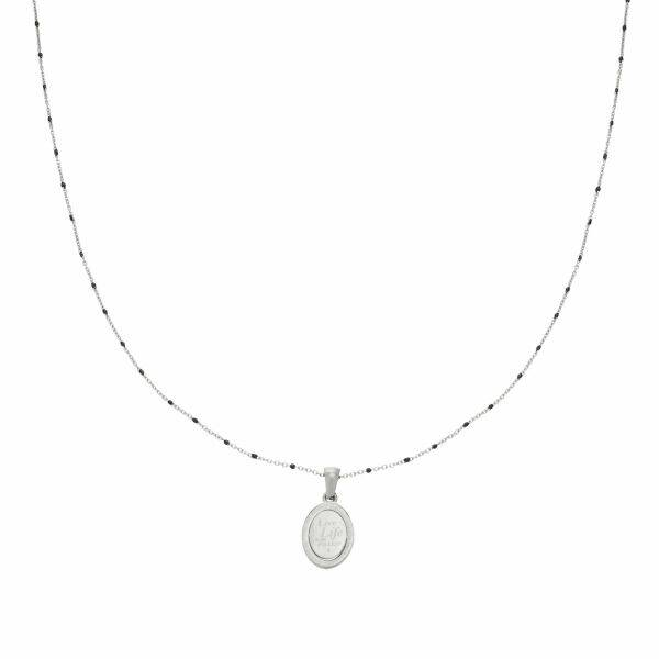 Ketting Live Life Zilver