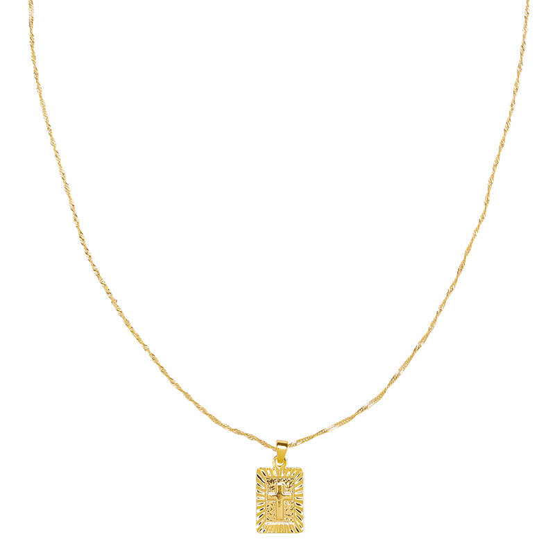 Ketting Spiritual Cross Goud