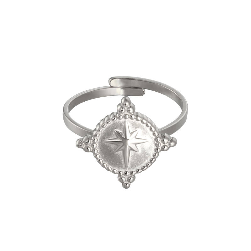 Ring Northern Star Zilver