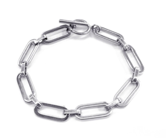 Armband Open Chains Zilver