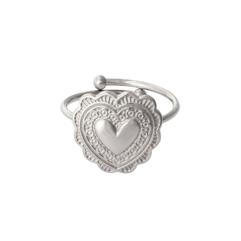 Ring True Love Zilver