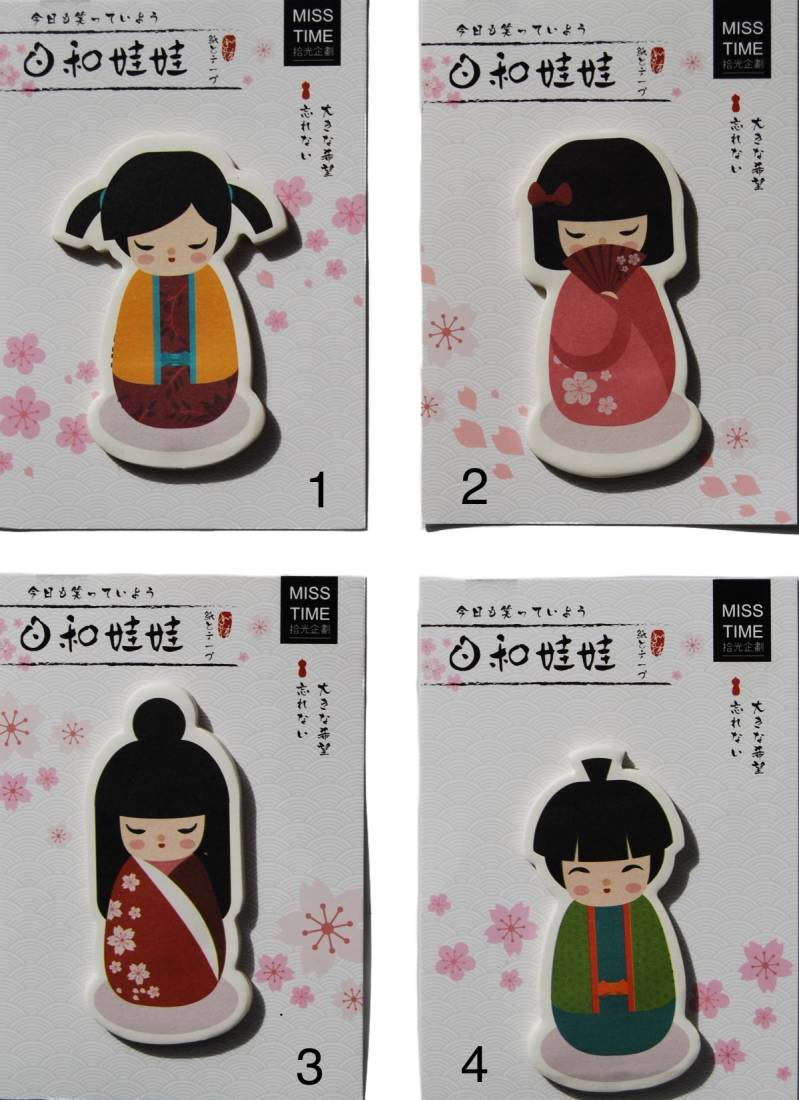 sticky notes geisha
