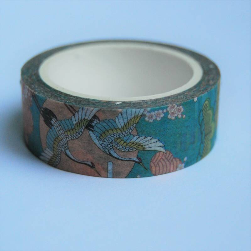 washi tape kraanvogels traditioneel