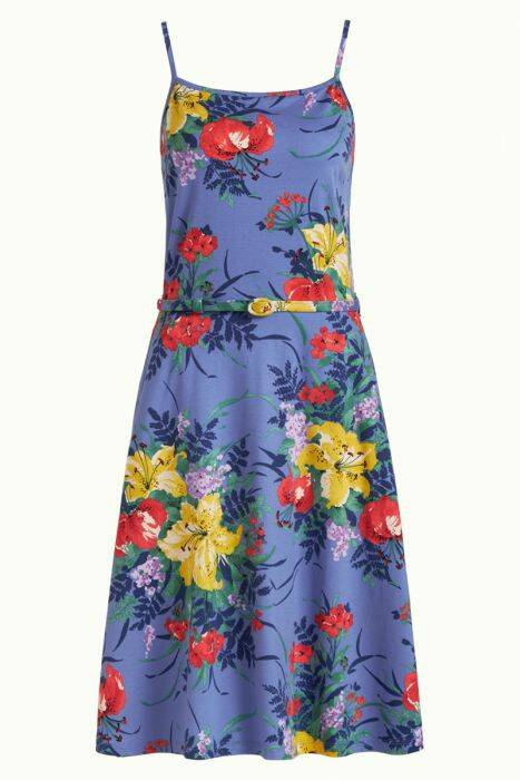 Summer Betty dress gladioli