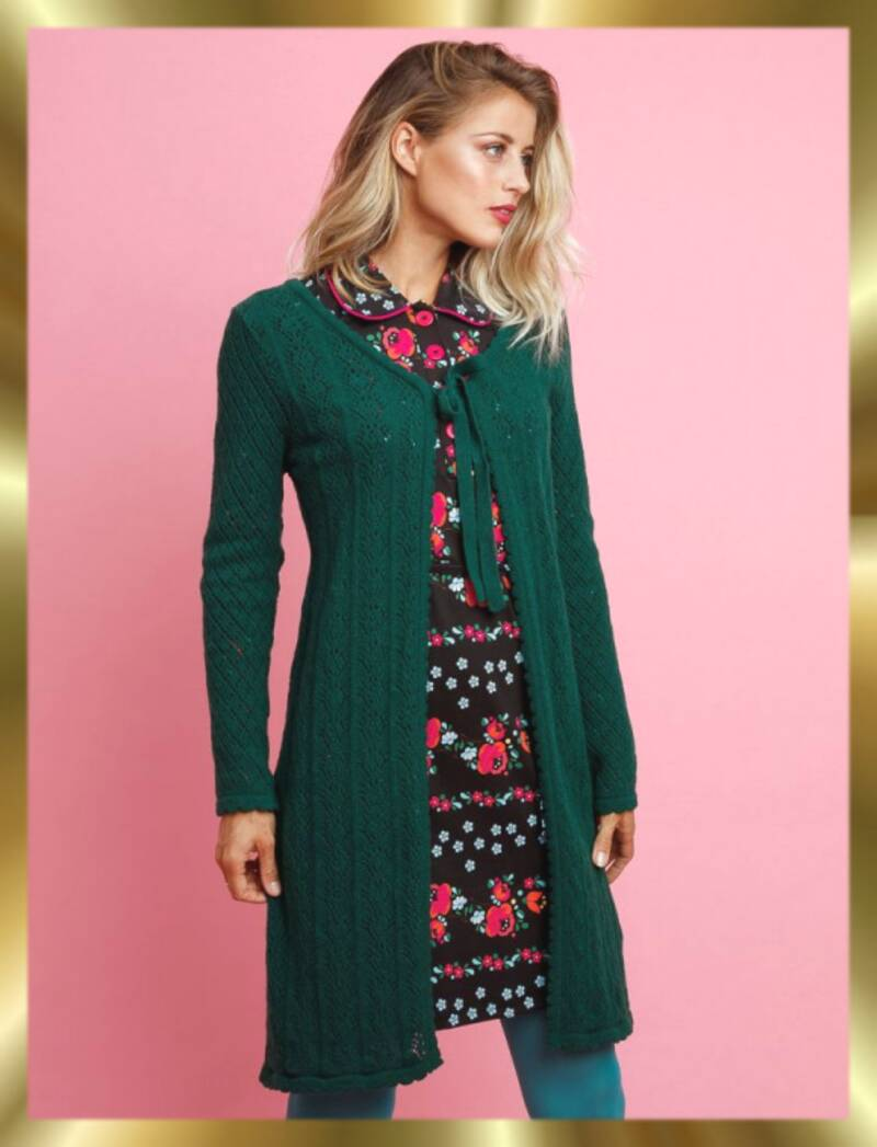 Cardigan lolly green