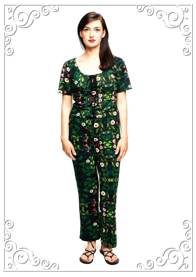 Jumpsuit carmen secret garden