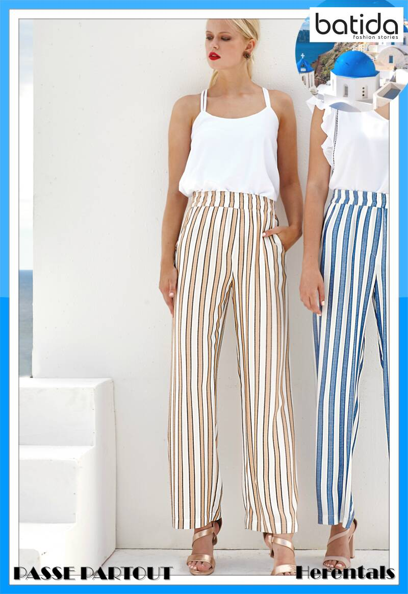 Striped trousers 8468