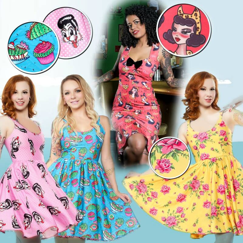 Quirky dresses
