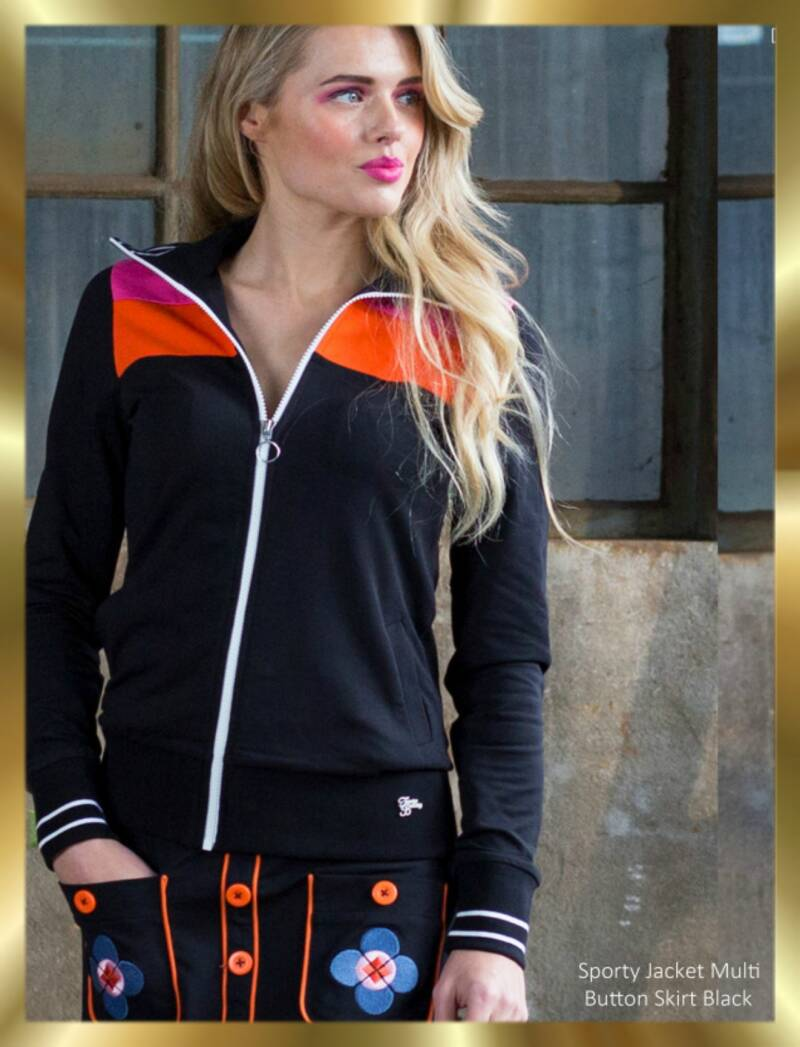 Sporty jacket multi