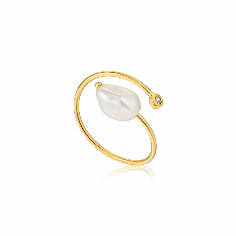 Ania Haie Zilver/verguld ring R019-01G