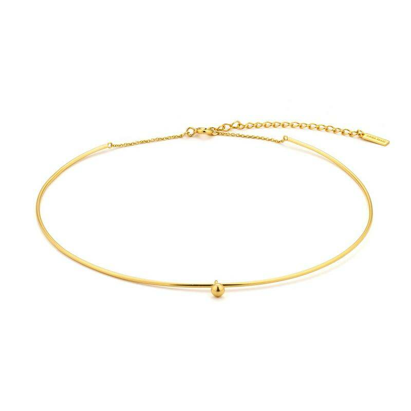 Ania Haie Zilver/verguld collier C001-01G