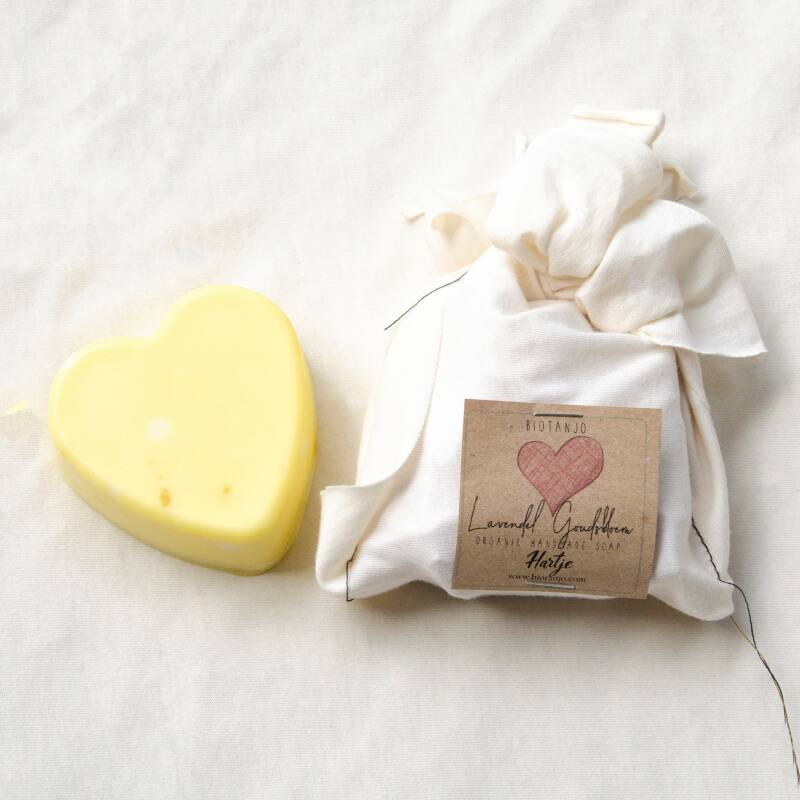 "Organic body soap ""Heart"""