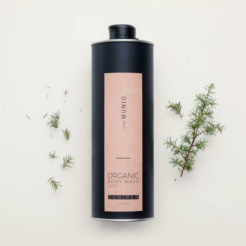 Juniper organic body wash 1 litre