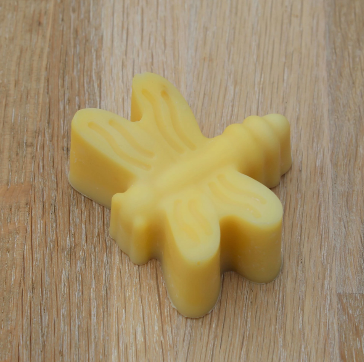 """Organic neutral body soap for small hands """" dragonfly """""""