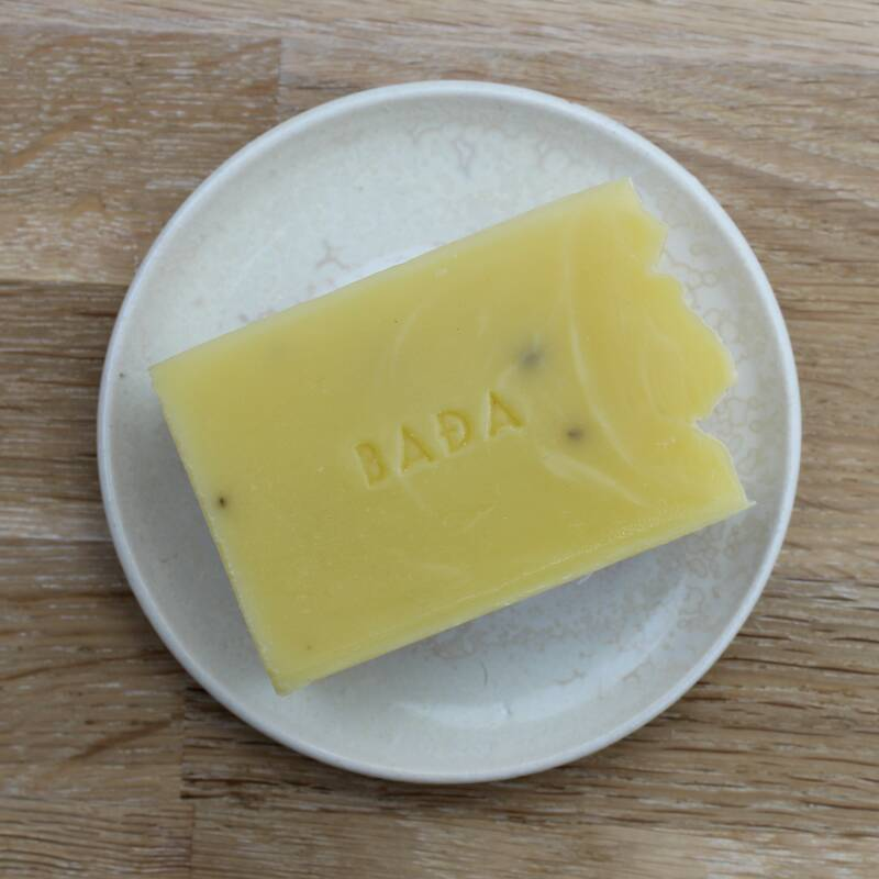Organic body soap with juniper and birch