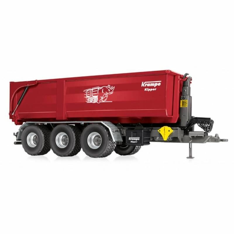Krampe THL30 haakarm carrier met Big Body 750 afzetcontainer