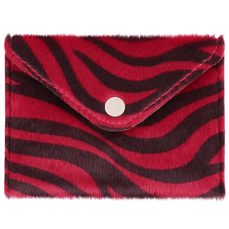 Wallet zebra life red