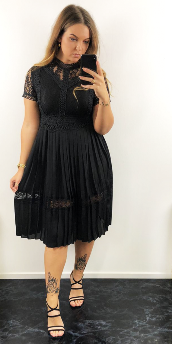 Zoë dress black