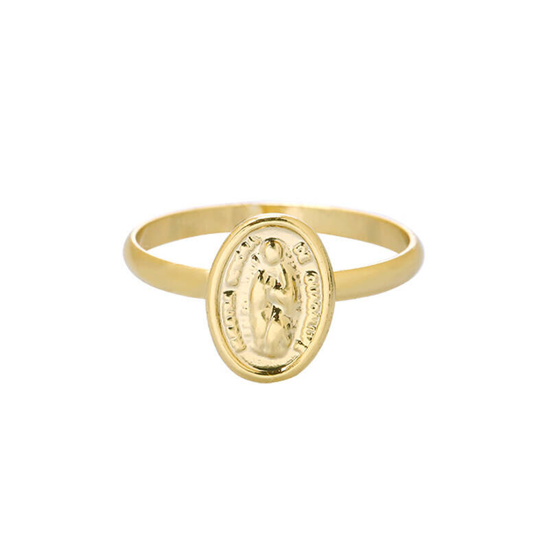 The Mary ring goud