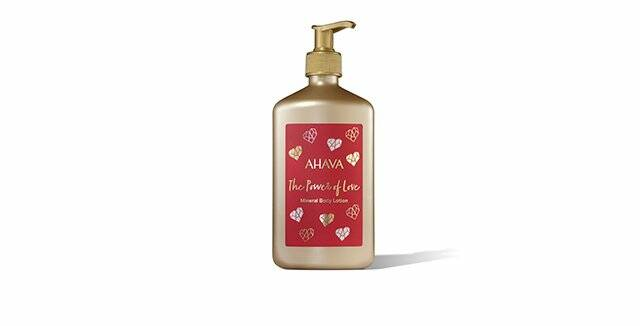The power of love - Ahava Mineral body lotion