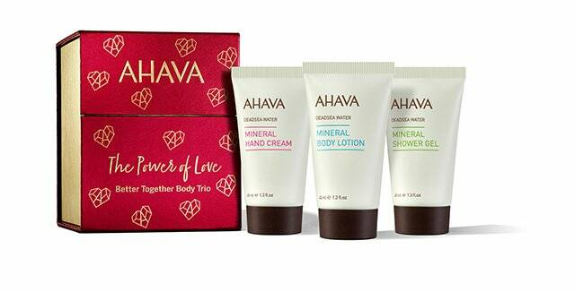 Better together body trio - Ahava holiday collection 2021