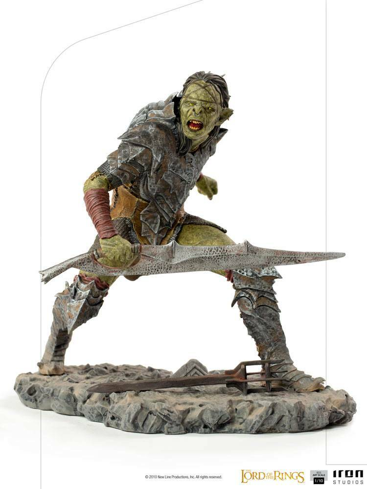 Lord Of The Rings BDS Art Scale Statue 1/10 Swordsman Orc 16 cm