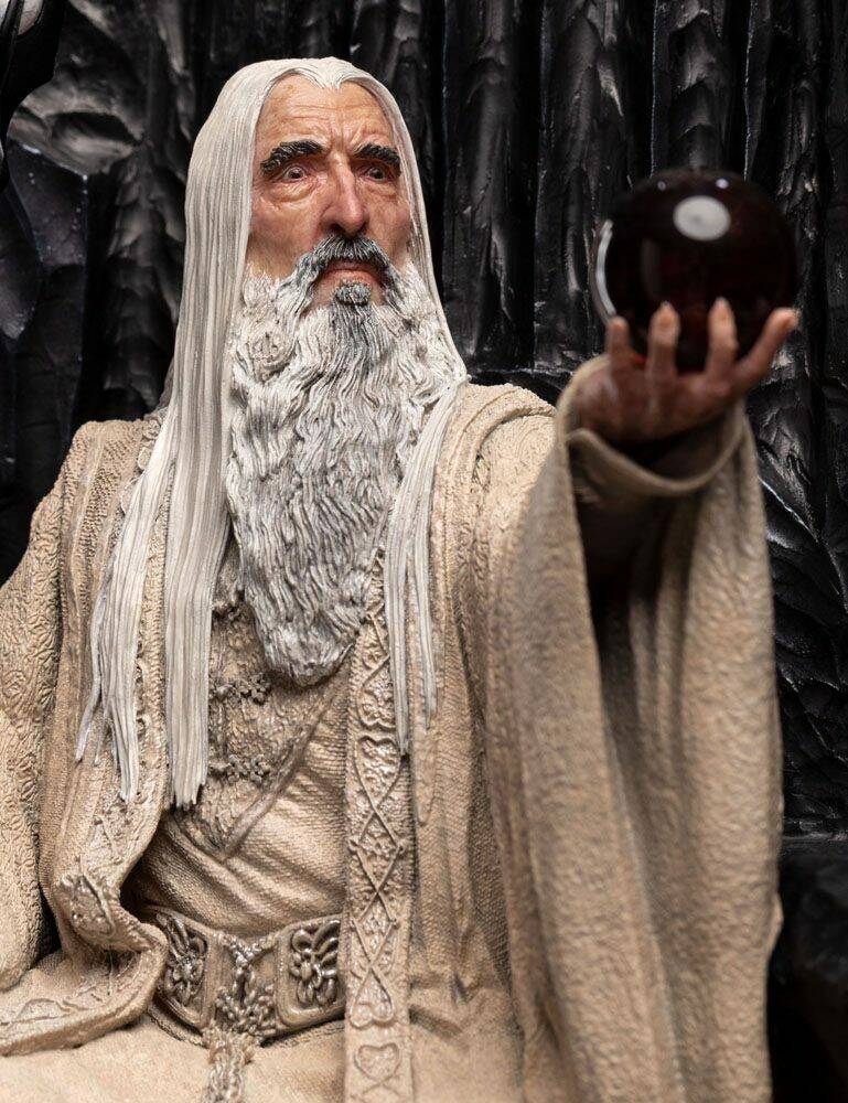 The Lord of the Rings Statue 1/6 Saruman the White on Throne 110 cm
